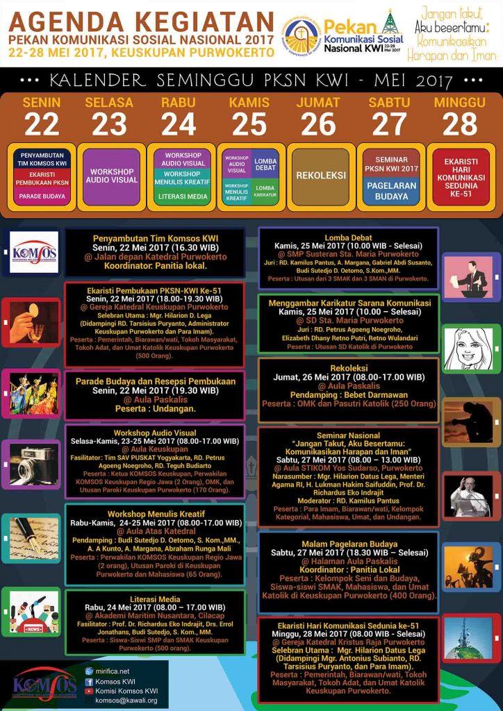 agenda pekan komsos 2017