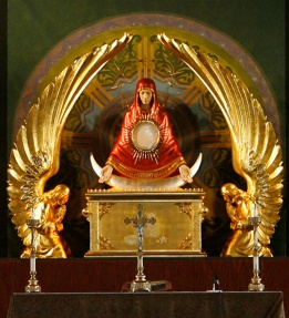 Mary Ark of the Covenant Monstrance