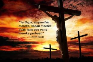 Doa Yesus di salib-1