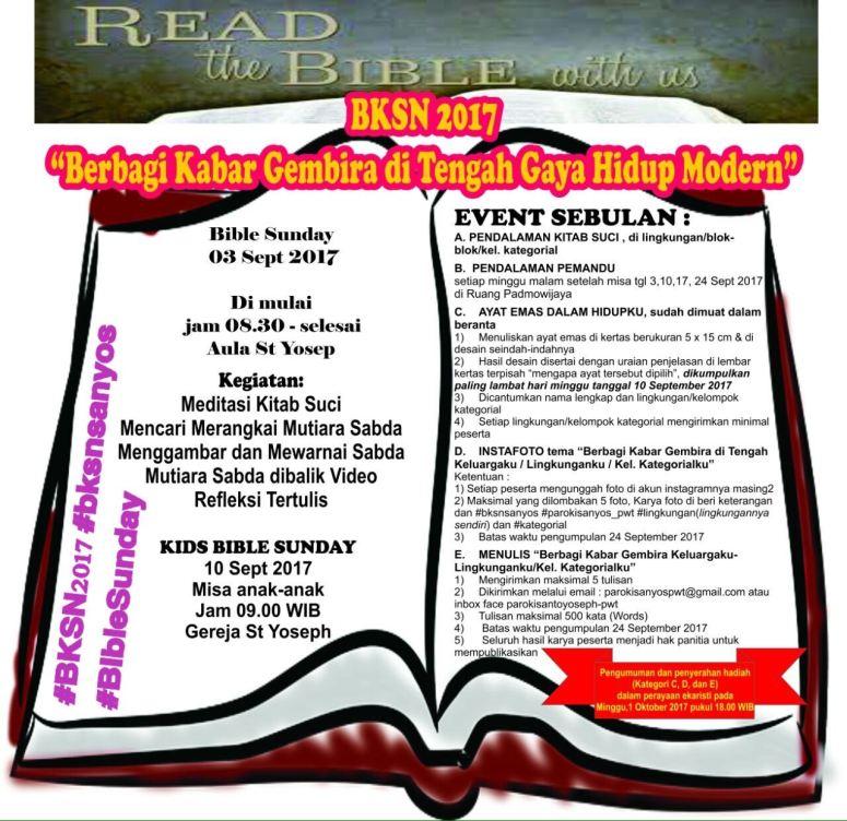 Banner Bible Sunday