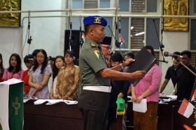 Teks Proklamasi dan Pancasila dibacakan kembali