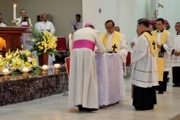 Mgr Rolly menyatakan keteguhan iman