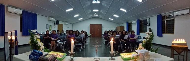 Suasana menjelang akhir misa arwah Ibu2 WKRI (07/11/2017)