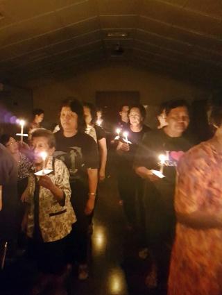 Semoga terang kasih Kristus dan semangat para pendahulu tetap berkobar