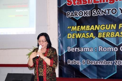 Doa Pembukaan oleh Bu Lynawati - Rekoleksi Pengurus DPP dan Stalingkat