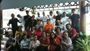 Foto bersama di akhir kunjungan