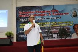 Sambutan Rm Toro dalam Rekoleksi Pengurus DPP dan Stalingkat