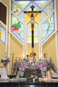 Doa Syukur Agung dalam misa Acies di Gereja St. Yoseph Purwokerto