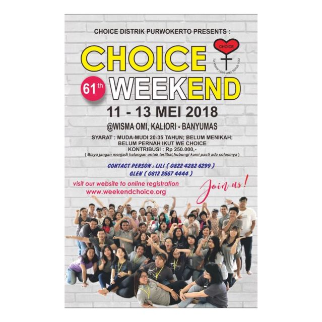 Brosur Choice Mei 2018