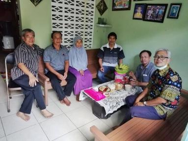 Kunjungan di keluarga Bp Kosim