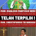 Telah terpilih Uskup Maumere dan Purwokerto