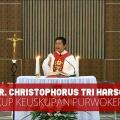 Uskup Purwokerto Mgr Christophorus Tri Harsono