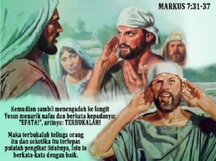 Markus 7 31-37