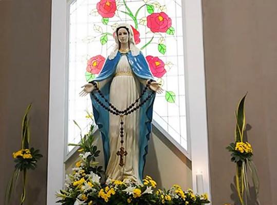 Bunda Maria di Sanyos