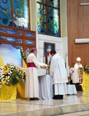 pengakuan iman dan janji mgr Tri Harsono