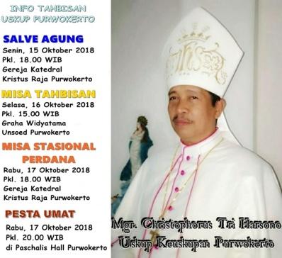 Rangkaian Acara Tahbisan Uskup Purwokerto