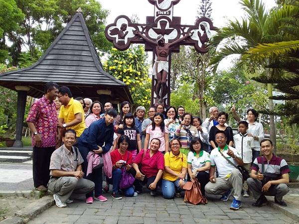 Ziarah Ling Markus-di kompleks Makam Rm Sanjoyo
