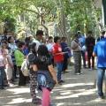 Ziarah Ling Markus-jalan salib di Gua Maria Pereng Salatiga