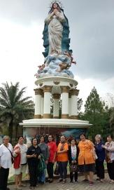 Sebagian Ibu-ibu St Monika foto di GMKA