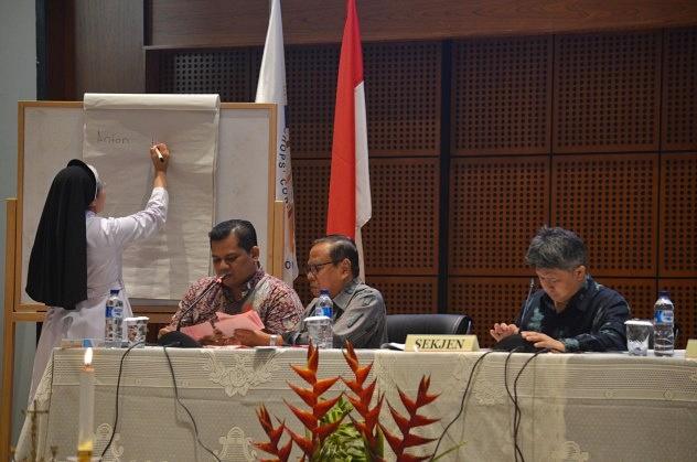 Suasana Sidang KWI di Bandung