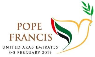 logo kunjungan Paus Fransiskus ke UEA