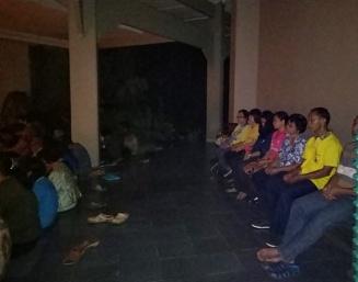 Doa Rosario Earth Hour Umat ling St. Ignatius