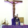 Mgr Tri Harsono memimpin misa di Stasi Sokaraja-5