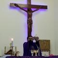 Mgr Tri Harsono memimpin misa di Stasi Sokaraja-6