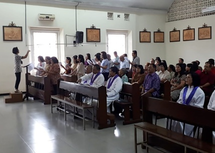 Paduan Suara Lingk St. Maria Sokaraja
