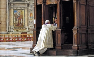 Paus mengaku dosa