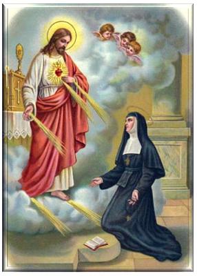 St Margareta Maria Alacoque