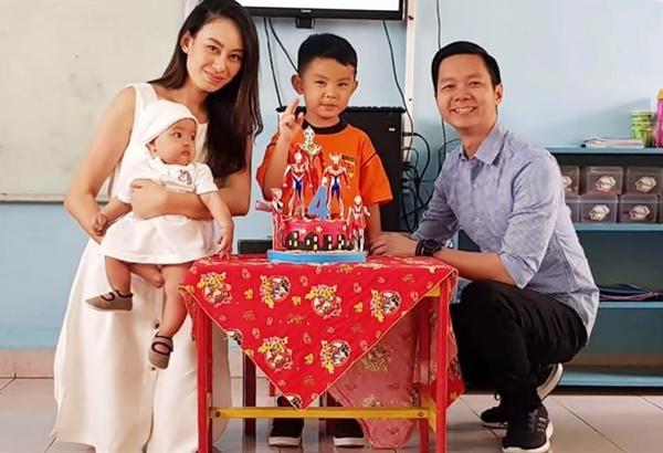 Hendra Putra n family