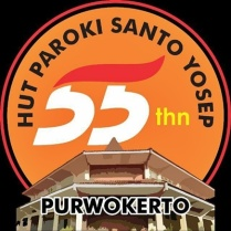 Logo HUT 55 Paroki Sanyos