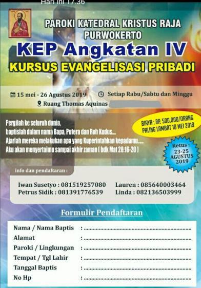 Flyer KEP angkt IV