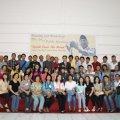 Foto bersama setelah pelatihan Public speaking di aula Sanyos Okt 2009