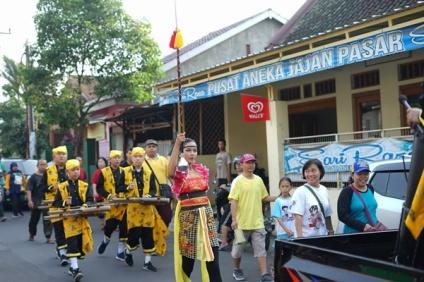 Grup musik kentongan SMP Bruderan