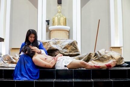 Maria dan Yesus dalam Tablo