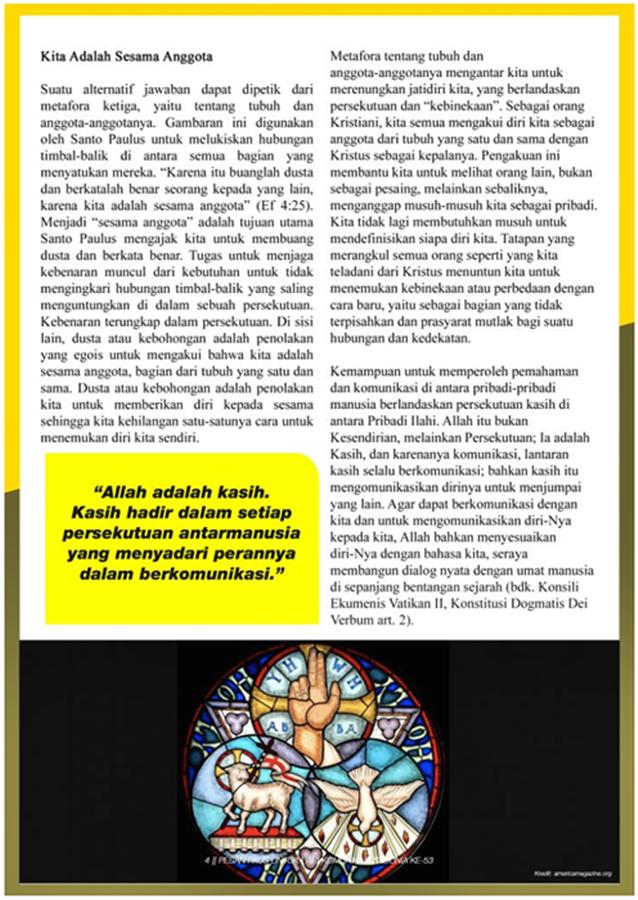 Pesan Paus Untuk Hari Komunikasi Sedunia ke-53 – hlm 4