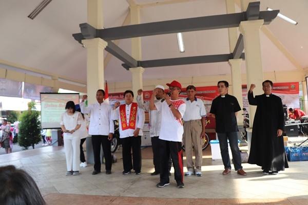Sambutan Sekretaris Kecamatan Purwokerto Timur.jpg