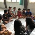 shring kelompok di acara minggu panggilan dekteng
