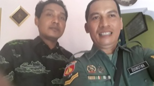Kepala Desa Klahang dan Pak Anton