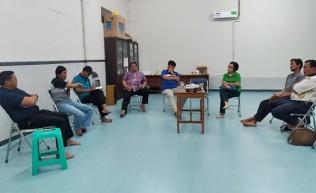 rapat perdana tim penataan lingkungan 13 Nov 2018