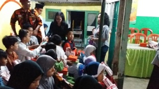 Santunan Sanmar utk anak yatim piatu-8
