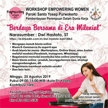Flyer Workshop EW