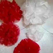 bunga dari tas plastik