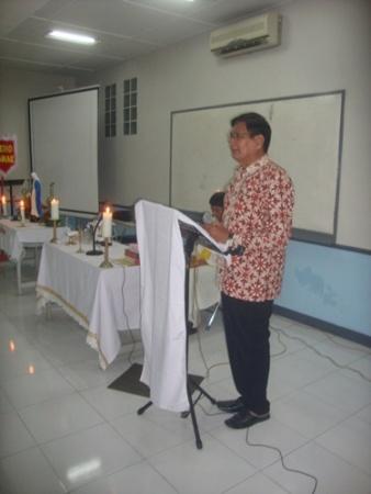 Pelantikan RPR-sambutan Bpk Suliyono Ketua Komisium