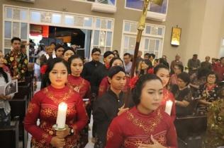 Perarakan petugas liturgi