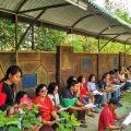 Berdoa di Taman Kerahiman Ilahi Pajangan Bantul