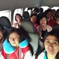 Dalam perjalanan di minibus-1