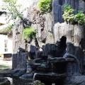 Kolam di taman pastoran St Yosep